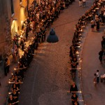 LE ALI DEI FEDELI DURANTE LA PROCESSIONE DEI CERI, ALL'ARCO DI BONIFACIO -Ph: Francesco Patacchiola