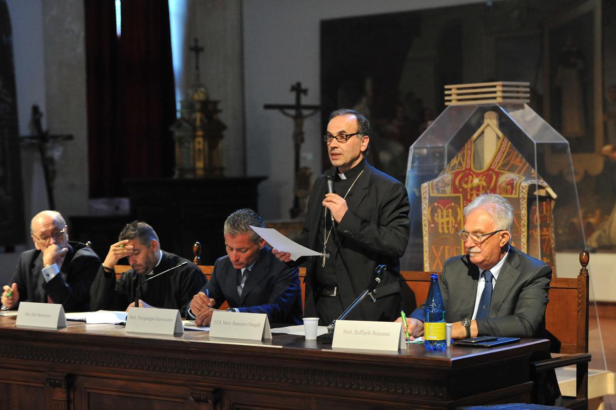 CONVEGNO INTERNAZIONALE SULLA FAMIGLIA, con il Vescovo Pompili ed il Corpo Diplomatico presso la Santa Sede