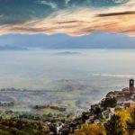 Lago di Ripasottile da Poggio Bustone - Ph: Alberto Agostini