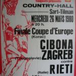 IL BASKET - La vittoria della Coppa Korac