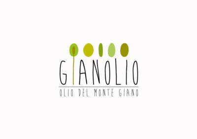 GIANOLIO Olio del Monte Giano - logo By Scaranidesigner