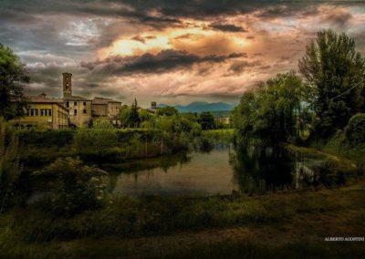 RIETI, Il Centro Storico dal Fiume Ph: Alberto Agostìni