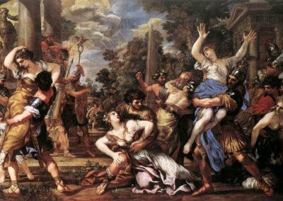 #aSpassoper Il Ratto delle Sabine di Pietro da Cortona